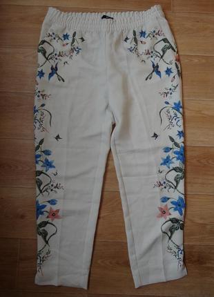 Снизила цену красивые брюки - штаны от h&m м- л размера