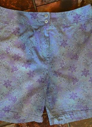 Хлопковые шорты marks&spencer