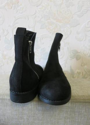 Ботинки новые черного цвета на небольшом каблуке 37р., h&m3