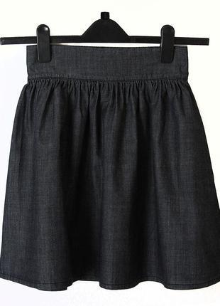 Джинсовая юбка stradivarius