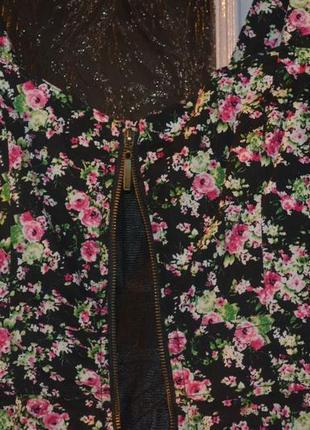 Платье в цветочный принт forever 21