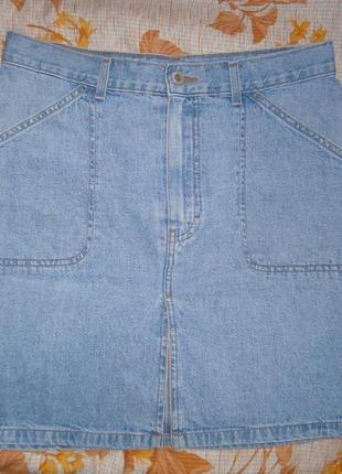 Юбка джинсовая marks & spenser