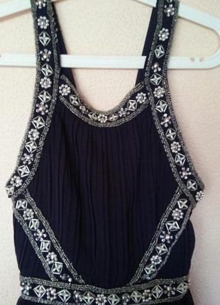 Нарядное платье в пол от topshop 34