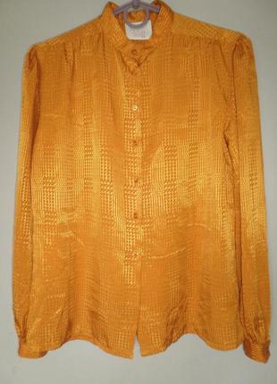 Яркая винтажная блуза