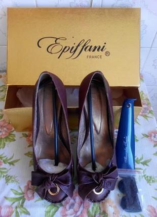 Туфлі жіночі,шкіряні,франція epiffani