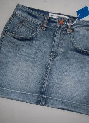 Новая джинсовая юбка, адидас оригинал.