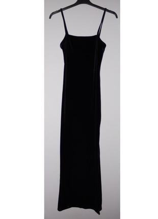 Платье бархатное h&m в пол ( длинное , до пола , макси )