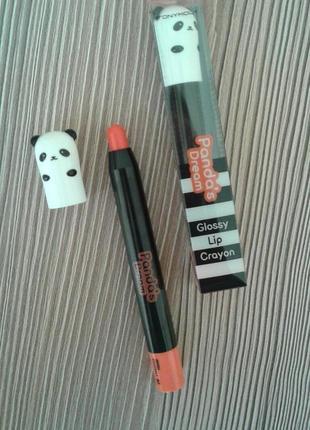Tony moly panda's dream glossy lip crayon.