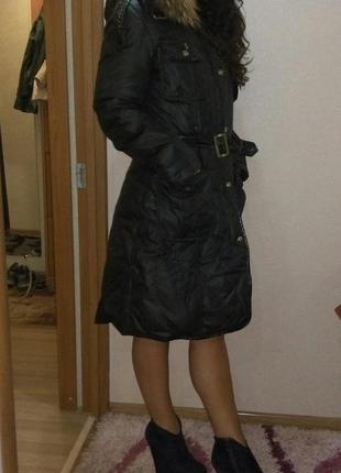 Пальто snow beauty  зимнее