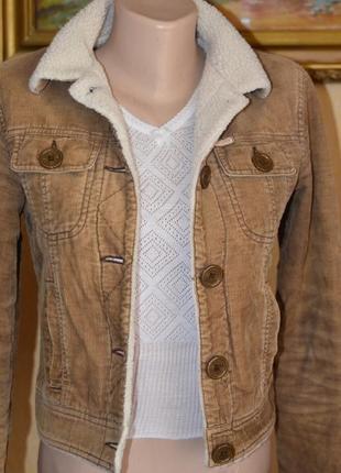 Hollister демисезонная курточка
