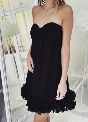 Неотразимое чёрное платье h&m