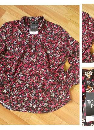 Фирменная рубашка topshop, размер 10\38