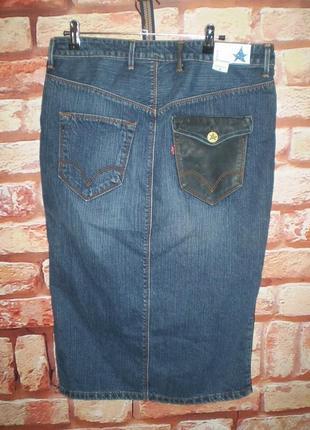 Юбка джинсовая levis