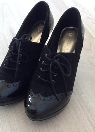 Почти новые ботиночки marks&spencer