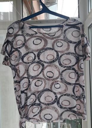 Легкая воздушная блуза футболка