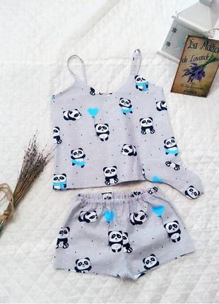Пижама піжама панда пижама с пандами