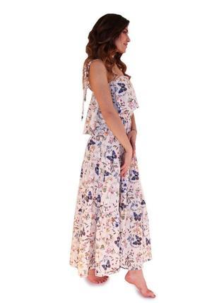 Обмен дизайнерское брендовое платье прованс вискоза
