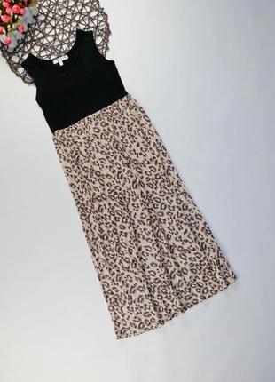 Красивое платье плиссе h&m на 7-8 лет, рост 128 см