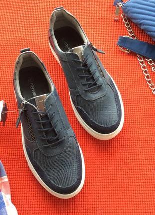 Туфли кеды полностью из натуральной кожи, финляндия, распродажа!!!