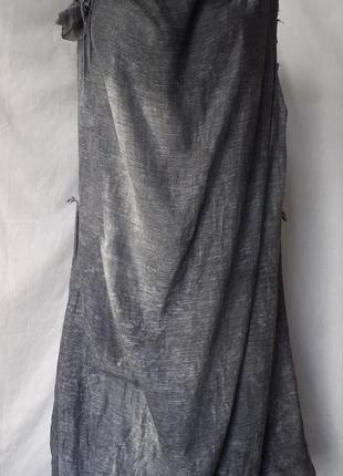 Стильное платье баллон (шелк, хлопок) в стиле rundholz