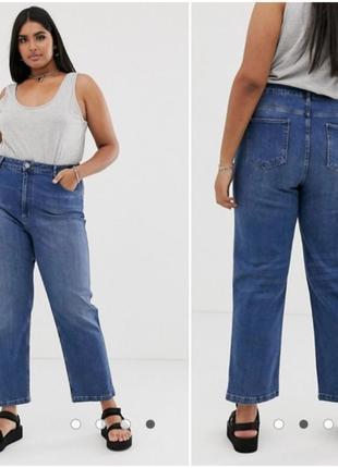 Ровные джинсы с нюансом