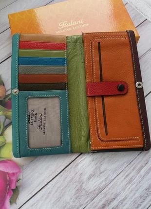 Женский кошелек из натуральной кожи кожаный жіночий шкіряний гаманець