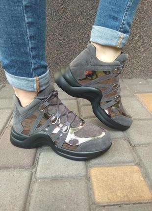 Кроссовки стильные, модные
