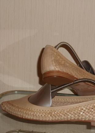 Балетки, туфли из натуральной кожи schutz бразилия
