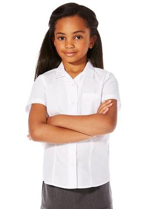 Хлопковая рубашка блузка в школу