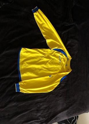Футбольная футболка с длинным рукавом