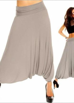 Модные летние штаны-алладины из натуральной ткани от michela mii