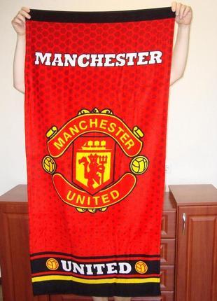 Пляжное полотенце манчестер юнайтед manchester united