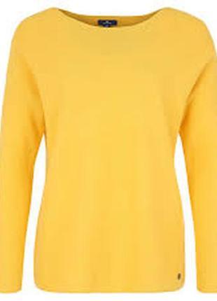 Красивый лимонный джемпер tom tailor