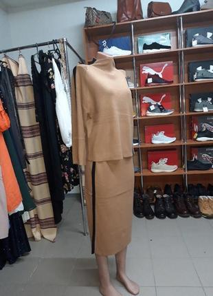 Тёплый шерстяной костюм finery