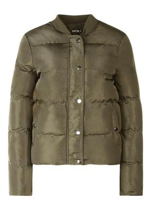 Теплая куртка бомбер