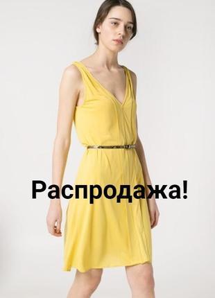 Летний желтый сарафан1 фото