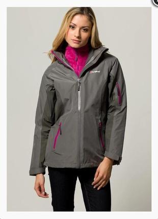 Куртка ветровка дождевик berghaus gore-tex performance shell