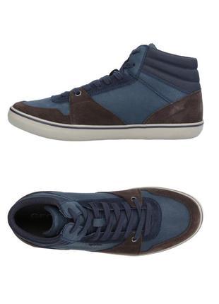 Кожаные ботинки сникерсы geox respira,оригинал р.40-41, торг