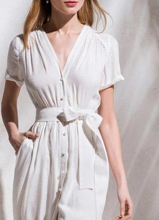 Платье из тонкой вискозы