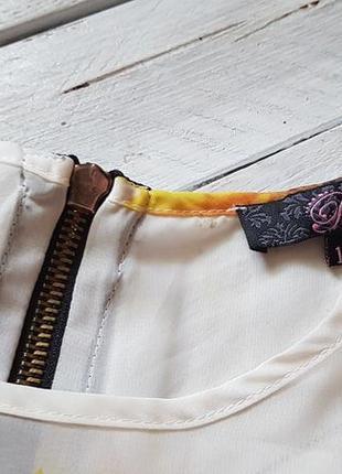 Чудова шифонова блуза з замочком ззаду від rare2 фото