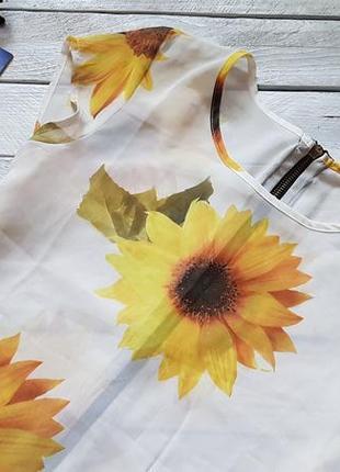 Чудова шифонова блуза з замочком ззаду від rare3 фото