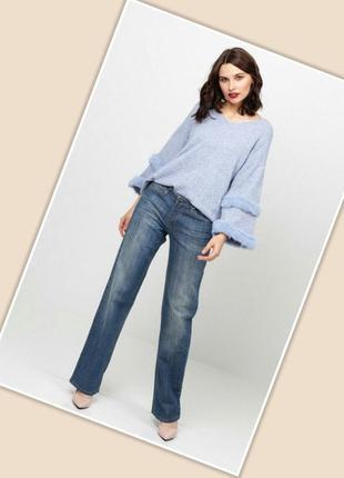 Очень стильные прямые джинсы snowy на высокую девушку