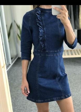 Суперское джинсовое платье