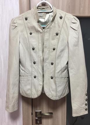 Кожаная курточка next