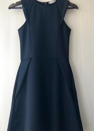 Стильное черное платье pull&bear, s, m, l
