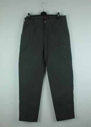 Оригинальные туристические штаны-шорты fjallraven zip off trousers