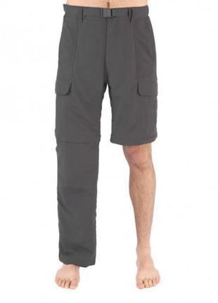Оригинальные туристические штаны-шорты the north face paramount peak convertible trousers