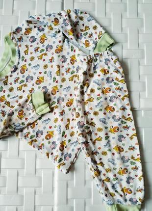 Пижамка с натуральной ткани