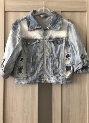 Джинсовая куртка, пиджак, болеро m-l