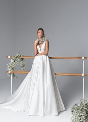 Свадебное платье jessica от crystal atelier